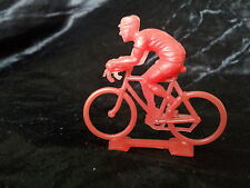 Cycliste Salza assis rouge tête basse Tour de France 1960's cycling