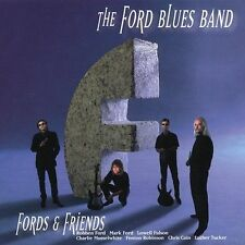 THE FORD BLUES BAND - Fords And Friends CD ** Like New / Mint RARE **