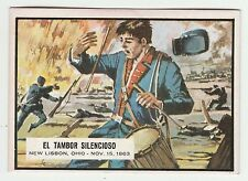 Topps A&BC Civil War News Gum Card Spain Spanish language printing #55
