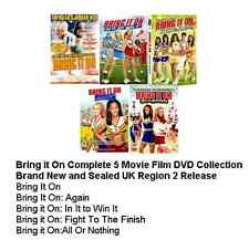 BRING IT ON COMPLETE MOVIE COLLECTION ALL 5 FILMS AGAIN IN IT TO WIN FIGHT FINIS