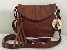 THE SAK Silverlake Leather Crossbody Bag Tobacco NWT$139