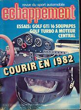 revue automobile: Echappement: N°154 aout 1981
