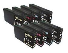 8 x Tinte für Epson WorkForce Pro WP4025dw WP4095dw WP4535DWF WP4595DNF mit CHIP
