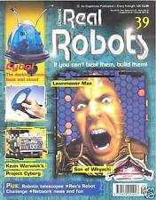 Ultimate Real Robots Mag.  Issue 39 - Lawnmover Man