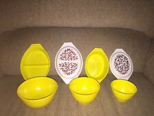 Rare~Vintage Lot Of Child Pyrex Dishes Banner & Eagle Toys~