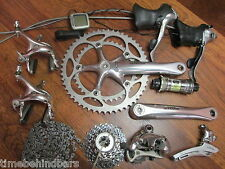 SHIMANO ULTEGRA 6500 175 53/39 9 SPEED DOUBLE GROUP BUILD KIT  GRUPPO