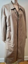 Brooks Brothers Menswear Beige Con Cuello Abrigo Trench De Mac Forro Desmontable M
