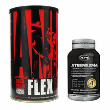Animal Flex (44 Serv) with Xtreme ZMA (90caps) - Joint Support/Recovery Pack