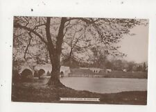 The River Stour Blandford Dorset Vintage RP Postcard Hobbs 652a
