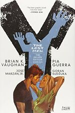 Y: The Last Man, Book 5, Deluxe Edition New Hardcover Book Brian K. Vaughan, Pia