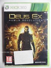 jeu DEUS EX HUMAN REVOLUTION pour xbox 360 en francais game spiel juego X360