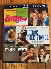 TRIPLE FEATURE THE WEDDING SINGER GOING THE DISTANCE MUSIC & LYRICS  BLU-RAY