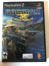 Socom II - Playstation 2 - Replacement Case - No Game