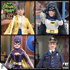 1966 BATMAN TV SERIES 5; SET OF 4 , 8 INCH ACTION FIGURES POLYBAG