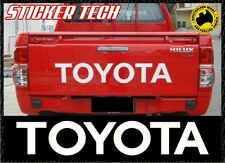 TOYOTA HILUX SR5 TAILGATE 2004 - 2013 STICKER DECAL SUITS 4WD TRAY TUB LID