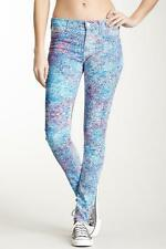 NWT Hudson Nico Mid Rise Super Skinny Jeans in Enamelized Floral 25