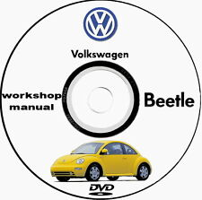 Workshop Manual Volkswagen New Beetle 1998/2000 e 2009/2012
