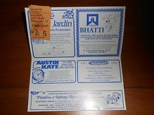 Shirley Valentine with Pauline Collins 1988 Used Tickets Vaudeville Theatre