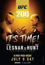 UFC 200 Fight Poster (24x36) - Brock Lesnar vs Mark Hunt v1