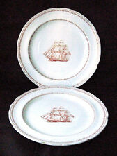 """Vintage Copeland 1814 Spode Trade Winds 8"""" Plate Lot of 2"""