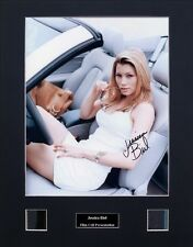 Jessica Biel Signed Photo Film Cell Presentation