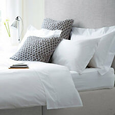 Love For White Bed Sheet - 300TC Luxury - Single/Twin