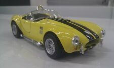 1965 Shelby Cobra 427 yellow kinsmart Toy model 1/32 scale diecast present gift