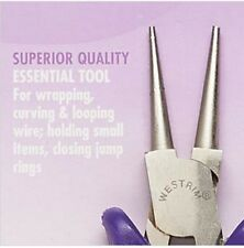 """Pliers Round Nose Wire Wrapping Looping Tool Steel 5"""" Beading Jewelry Craft"""