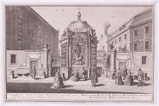 """Karl Remshard (1678-1735) """"Vienna View"""", Engraving aft. Salomon Kleiner, ca.1730"""