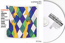 CD CARDSLEEVE 15T PIXIES/LIARS/TIMBER TIMBRE/SÉBASTIEN TELLIER/LITTLE DRAGON