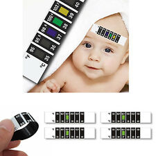 FOREHEAD STRIP THERMOMETER COLD FEVER BABY CHILD ADULT TEMPERATURE TEST CHECK