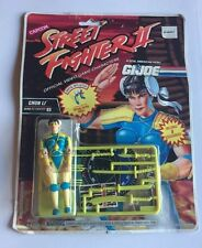 GI Joe Capcom Street Fighter II Chin Li Vintage Original Packaging 1993