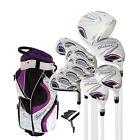 """Believe Ladies Complete Golf Set by Founders Club Purple RH - Petite (-1"""")"""