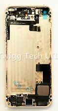 For iPhone 5S White Gold Rear Housing With Parts Prefitted - Back Cover