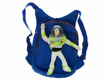 Toy Story Cartoon Kids Backpack Bag School Disney Soft Travel + Buzz Lightyear