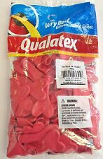 """Qualatex 6"""" Red Heart Balloons~100 ct."""