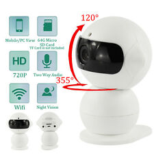 Home Security Infant Pet Monitor IP Camera Mini Robot HD WIFI Webcam Wireless