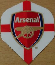 "3 Sets (3X3) Official ""Arsenal"" St.George Cross Standard Shaped Dart Flights"