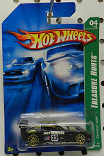 4 124 CHEVY CORVETTE VETTE C6R 22 BLACK 07 2007 TREASURE HUNT T HW HOT WHEELS