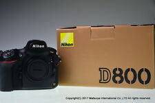 NIKON D800 36MP Digital Camera Body Shutter Count 18713 Excellent