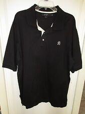 Sean John XX Large Black Polo Shirt 100% Cotton P Diddy