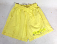 80s Vtg Neon surf Golds Gym Fitness Running Weightlifting boxing Gym Shorts M