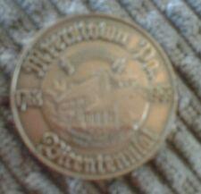 TOKEN MYERSTOWN PA. 1763 1963 BICENTENNIAL