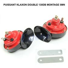 SUPER PUISSANT 120DB! DOUBLE KLAXON 12V GRAVE+AIGUE! LAND CRUISER PAJERO L200