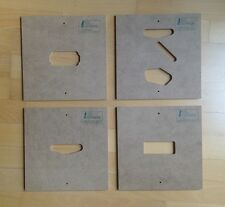 Schablonen Templates f. Pickups w.b.Fender Gibson Ibanez Les Paul Telecaster