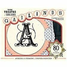 NEW! Theatre of Dreams Alphabet Garlands by Wendy Addison (English)