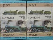 1908 GWR 111 THE GREAT BEAR 4-6-2 Train 50-Stamp Sheet (Leaders of the World)