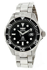 Invicta Men's 3044 Pro Diver Grand Diver Analog SS Automatic Black Dial Watch