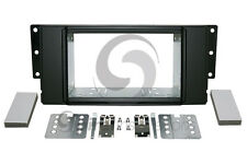 LAND ROVER LR3 2005-2009 Radio Stereo Dash Kit Standard 2DIN RUBBERIZED BLACK