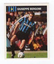 figurina CAMPIONI E CAMPIONATO 90/91 1990/91 numero 146 INTER BERGOMI